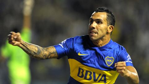 Carlos Tévez regresa al Boca Juniors a la senda de la victoria. Foto: Getty Images