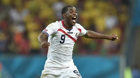 Joel Campbell de Costa Rica, Getty Images