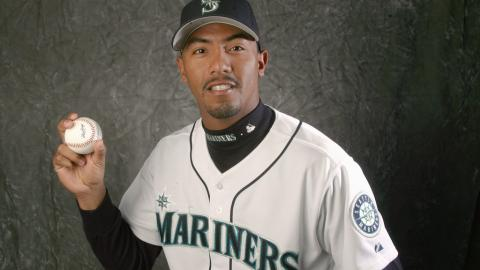 Marcos Carvajal poses for a portrait during Seattle Mariners Photo Day on February 22, 2006 at the Peoria Sports Complex in Peoria, Arizona. (Getty Images)