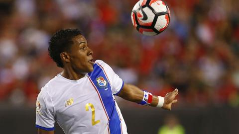Miguel Camargo #2 of Panama in action against Chile in the second half during the 2016 Copa America Centenario Group D match at Lincoln Financial Field on June 14, 2016 in Philadelphia, Pennsylvania. Chile won 4-2. (Getty Images)