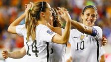 Alex Morgan y Carli Lloyd encabezan el listado de EE.UU. Foto: Getty Images